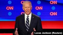 Бывший вице-президент США Джо Байден, претендующий на выдвижение кандидатом в президенты от Демократической партии на выборах 2020 года.