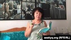 Правозащитница из Актобе Алима Абдирова.