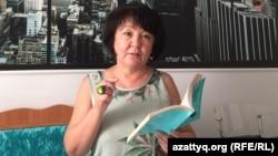 Kazakhstan - Aktobe rights activist Alima Abdirova.
