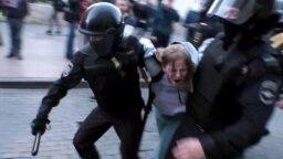 Задержание Дарьи Сосновской