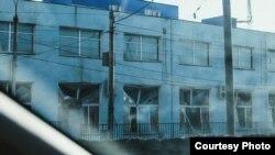 Оштетени згради од метеорот во Русија