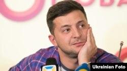 Зеленський заявив про намір іти в президенти наприкінці 2018 року