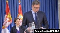 Predsednik i premijerka Srbije: Aleksandar Vučić i Ana Brnabić