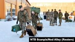 Американські морські піхотинці в Норвегії, січень 2017 року