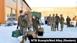 во Норвешка има околу 330 американски маринци