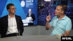 Дискутируют Владимир Назаров и Владимир Милов