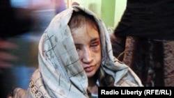 Sahar Gul nakon spašavanja iz kućnog zatvora, 28. decembar 2011.