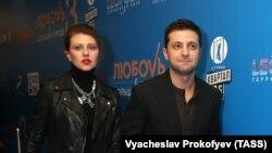 Елена и Владимир Зеленские в Москве (архивное фото 2013 года)
