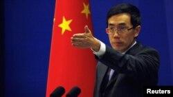 لیو وی مین، سخنگوی وزارت امور خارجه چين