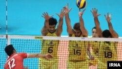 بازی ایران- برزیل