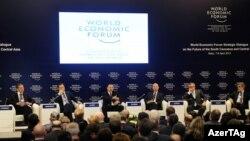 Bakıda Dünya İqtisadi Forumu - 8 ap rel 2013