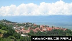 Город Сигнахи в регионе Кахети