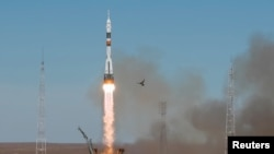 The launch of the Soyuz MS-10 spacecraft carrying two crew members was aborted after two minutes on October 11.