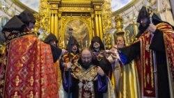 Կայացավ նորընտիր պատրիարք Սահակ արքեպիսկոպոս Մաշայանի անդրանիկ պատարագը