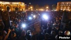 Протести в Єревані, Вірменія, 17 квітня 2018 року