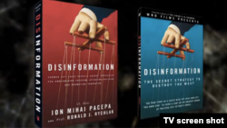 "Pacepa's new book, ""Disinformation,"" was co-authored by Ronald J. Rychlak."