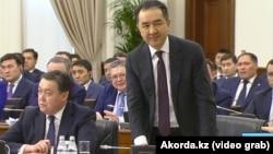 Премьер-министр Бақытжан Сағынтаев үкіметтің кеңейтілген жиынында. Астана. 30 қаңтар, 2019 жыл