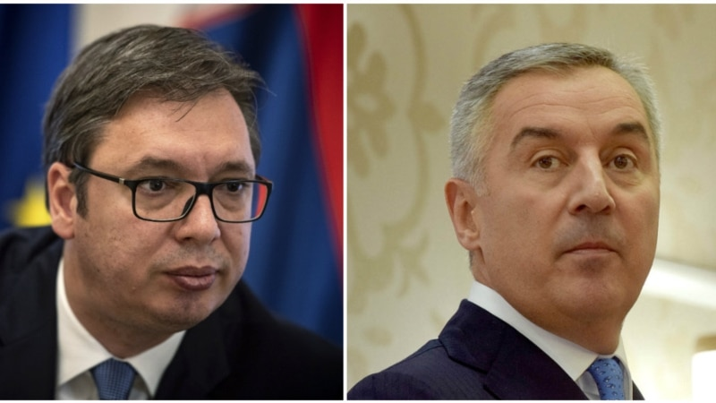 Koga su protesti više uzdrmali - Vučića ili Đukanovića?