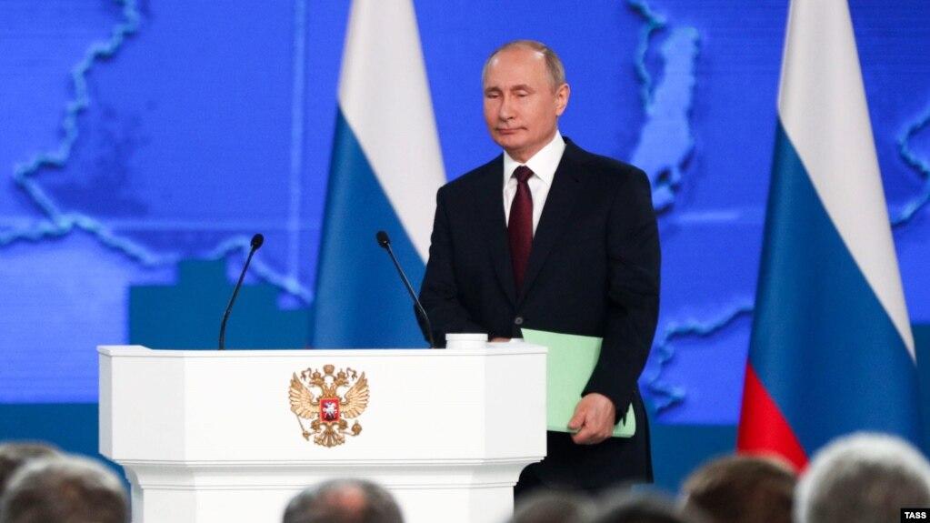 Путин выступит с посланием Федеральному собранию 21 апреля