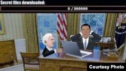 صحنه ای از بازی ویکلی لیکس