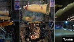 تصاویری که سایت تسنیم از آمادهسازی موشک قیام در شهر زیرزمینی منتشر کرده است