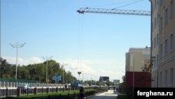 Площадь Хадра в Ташкенте.