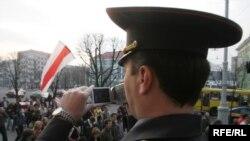 Белорусские власти пока не определились, что им делать с «Европейским маршем»