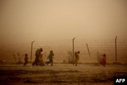 Сирия, лагерь для беженцев