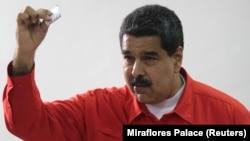 Președintele venezuelean Nicolas Maduro la alegerile de la 30 iulie pentru Adunarea Constituantă