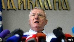 "Serbian nationalist Vojislav Seselj said he was unworried at the appeal. ""They have no legal grounds,"" he said."