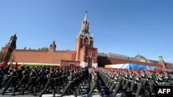 Кызыл мәйданда хәрби парад