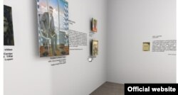 "În expoziția virtuala """"Omagiu Limbii Române: scriitori basarabeni în opera artistei plastice Valentina Rusu Ciobanu"", curatori Maria Șleahtițchi & Victoria Nagy Vajda, 2020"
