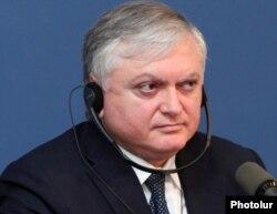 Ermənistanın Xarici İşlər naziri Edward Nalbandian