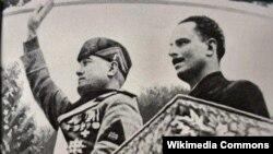 Муссолини и Мосли
