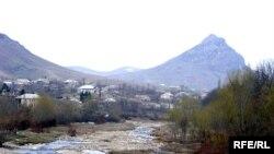 Пограничниот регион Товуз во Азербејџан.