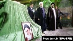 دیدار روز چهارشنبه روحانی از آرامگاه روحالله خمینی