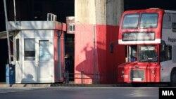 Илустрација - Автобус на ЈСП Скопје