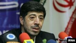 علیرضا جهانگیریان در نشست خبری روز چهارشنبه در دفتر خبرگزاری جمهوری اسلامی٬ ایرنا- ۱۰ اردیبهشت ۱۳۹۳