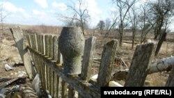 Стары беларускі звычай: збанкі вывешваць на частакол сушыцца. Гэты гарлач заімшэў забыты