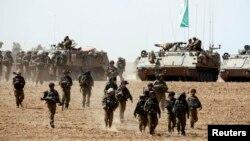 İsrail hərbçiləri - 12 iyul 2014