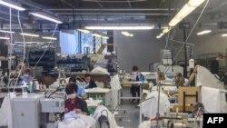 Armani Group-un İtaliyadakı fabriki