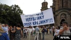Obeležavanje stradanja Srba u Oluji, Beograd, Foto: Vesna Anđić