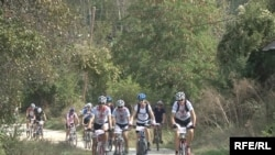 Macedonia - Mountain biking, Prilep, 5Oct2009