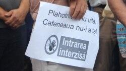 """Un nou protest ACUM împotriva demolării cafenelei """"Guguță"""""""
