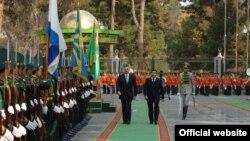 Prezident İ.Əliyev noyabrın 28-dən Türkmənistandadır