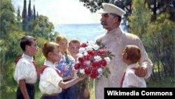 Барыс Уладзімірскі, «Ружы для І.В. Сталіна» (1937)