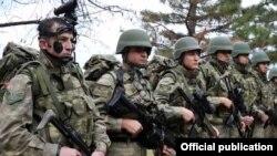 Турецкие военные на учениях Turkish Military Power 2015