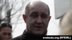 Беларус мухолифати аъзоси Д.Бондаренко, Минск, 2012 йил 15 апрел.