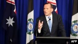Австралия премьер-министрі Тони Эбботт.