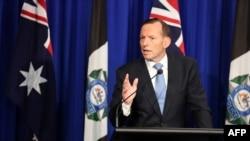 Австралия премьер-министрі Тони Эббот.